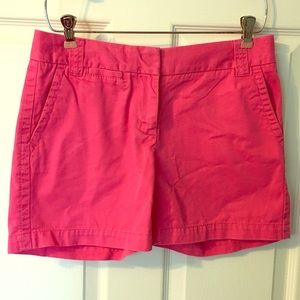 J. Crew Pink Chinos Weathered Broken in City Fit 2